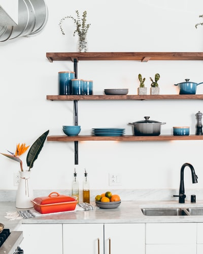 Modern kitchen cabinets can look like kitchen cabinets but they are not actually cabinets